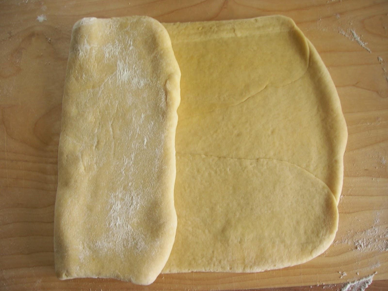 Danish pastry - składanie, krok 2