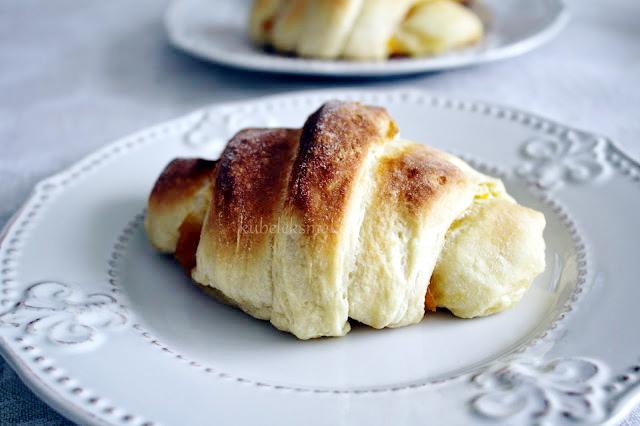 domowe rogaliki danish pastry - przepis