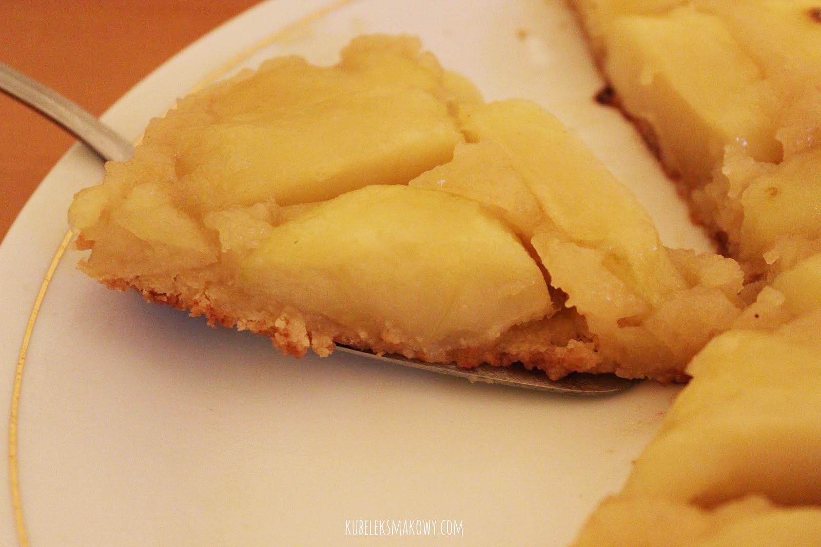tarte tatin - odwracana tarta z jabłkami - przepis