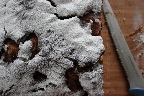 ciasto ucierane z owocami na dużą blachę - przepis