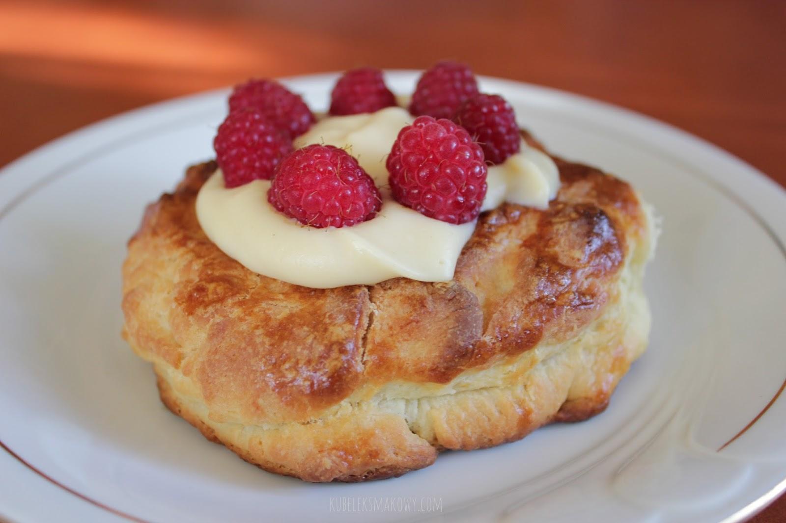 domowe ciasto półfrancuskie - przepis