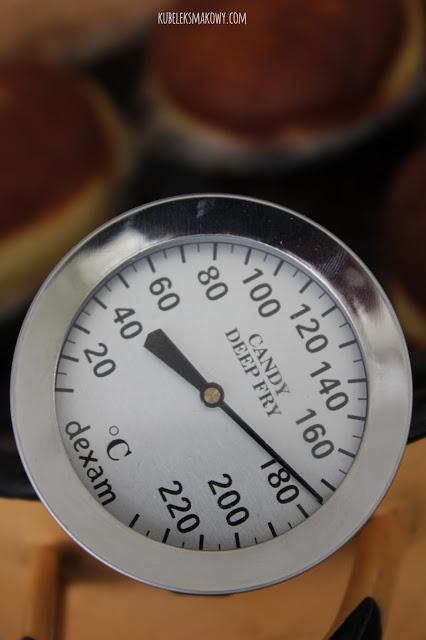 smażenie pączków - temperatura
