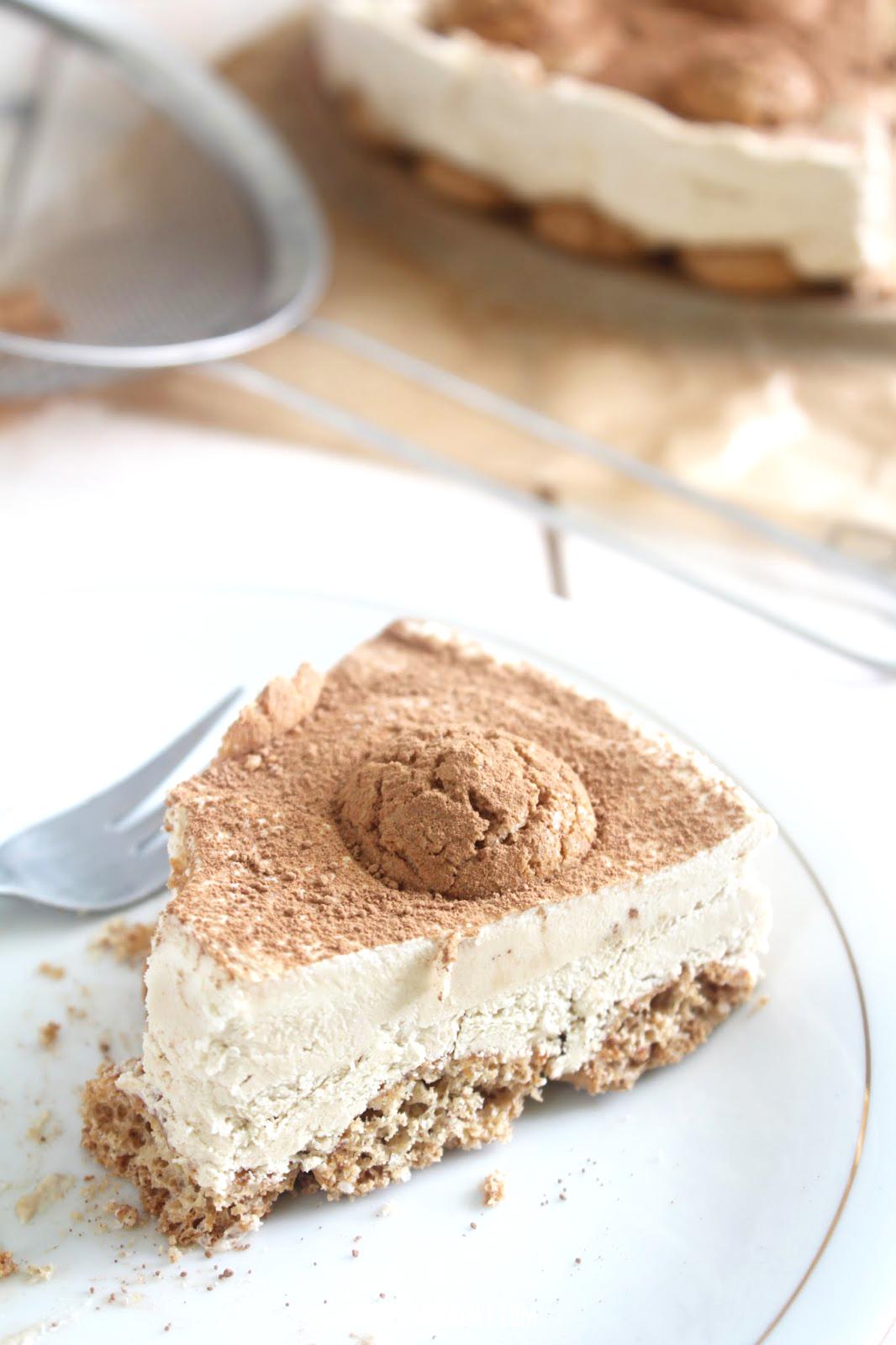 domowy tort lodowy tiramisu