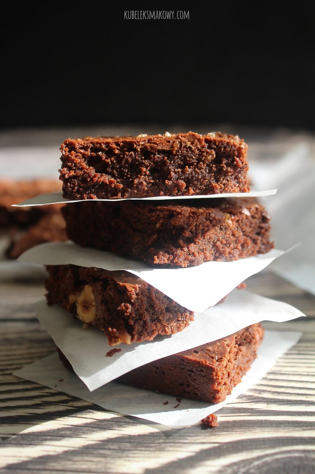 proste brownie z orzechami - przepisborder=