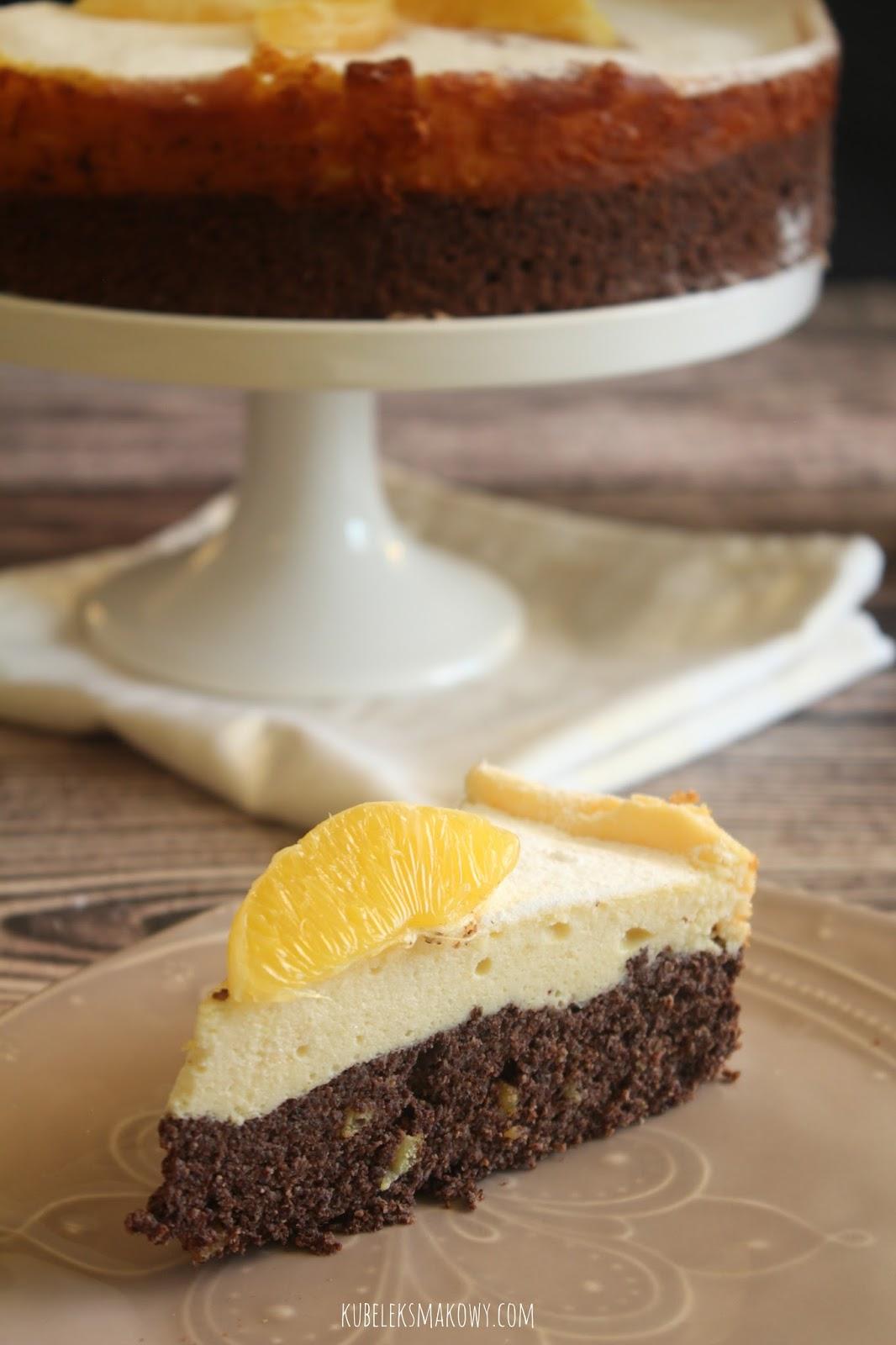 świąteczne ciasto makowo-serowe (seromak) - przepis