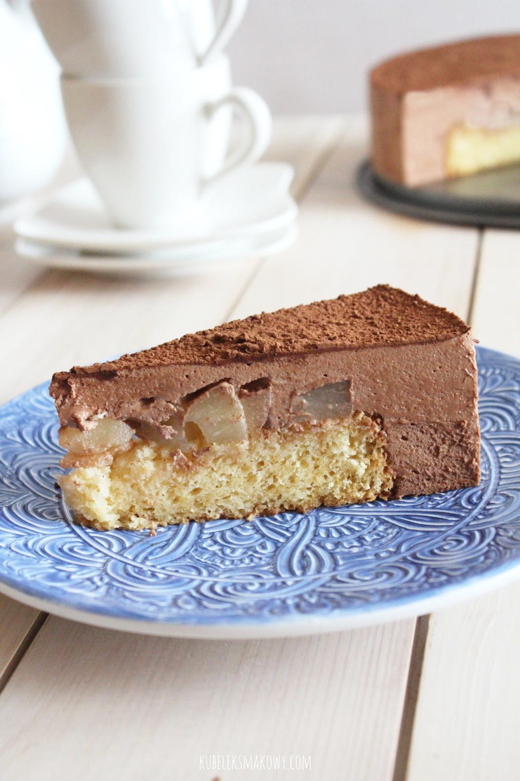 musowe ciasto czekoladowe bez surowych jajek - przepis