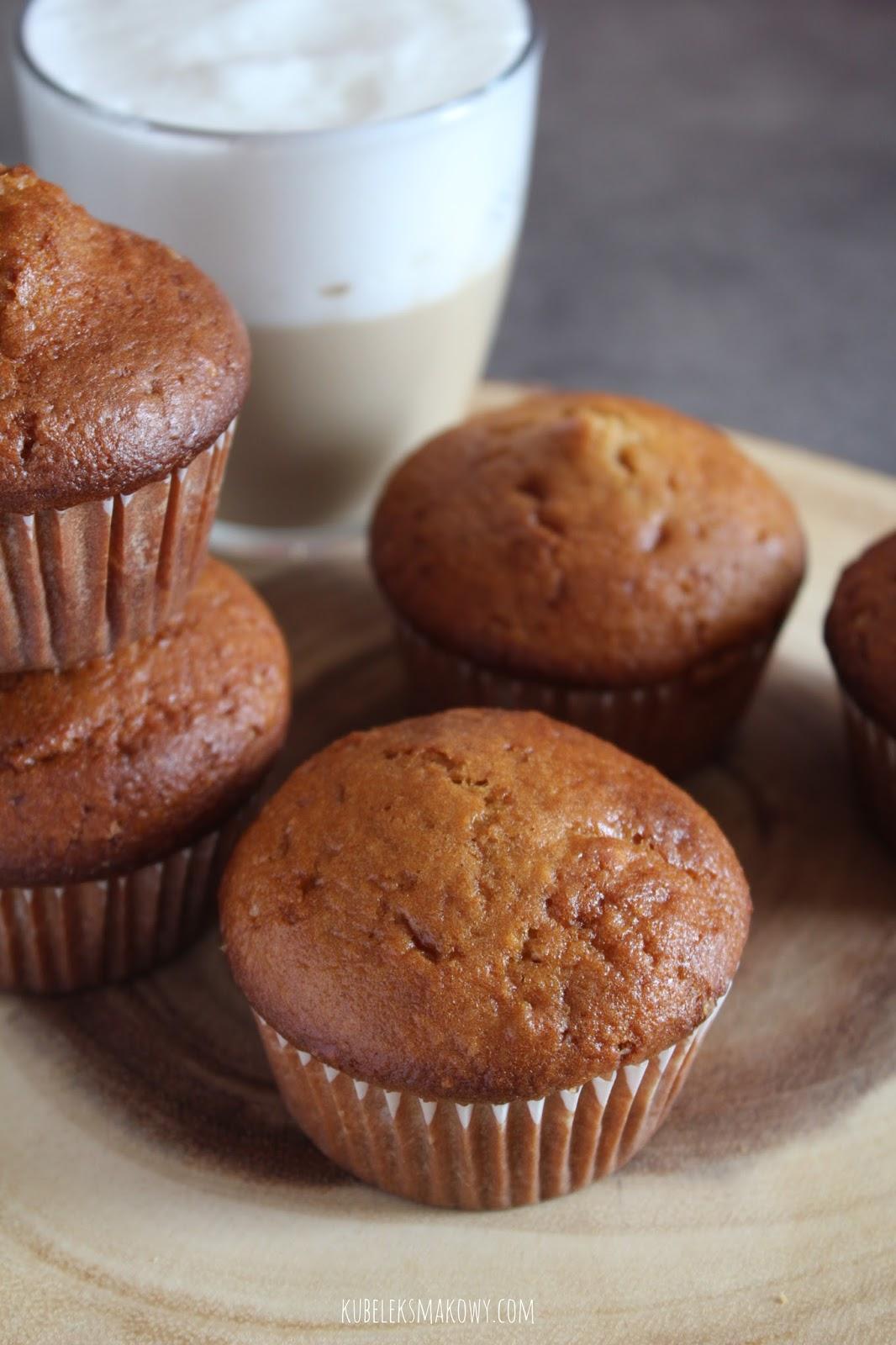 muffiny z mąką arachidową - przepis
