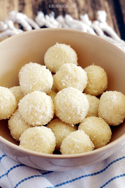 domowe pralinki kokosowe - przepis