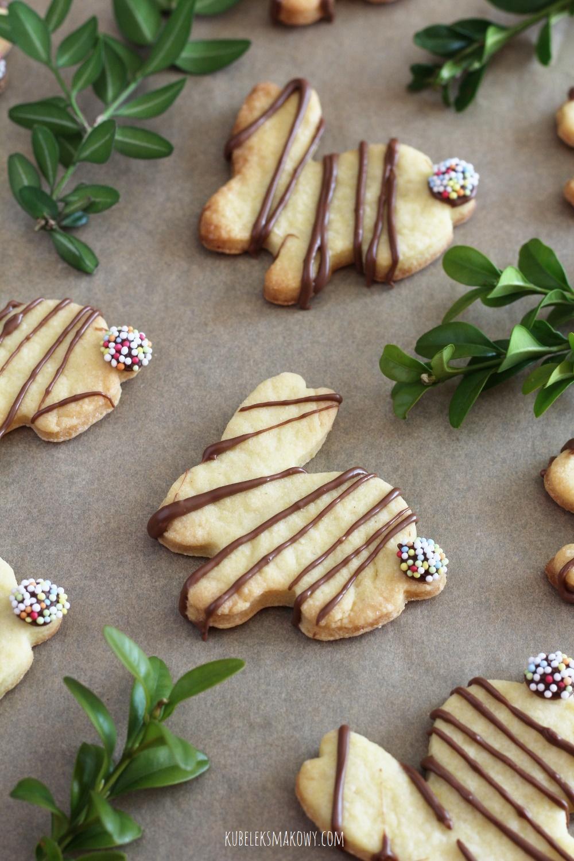 maślane kruche ciasteczka wielkanocne - przepis