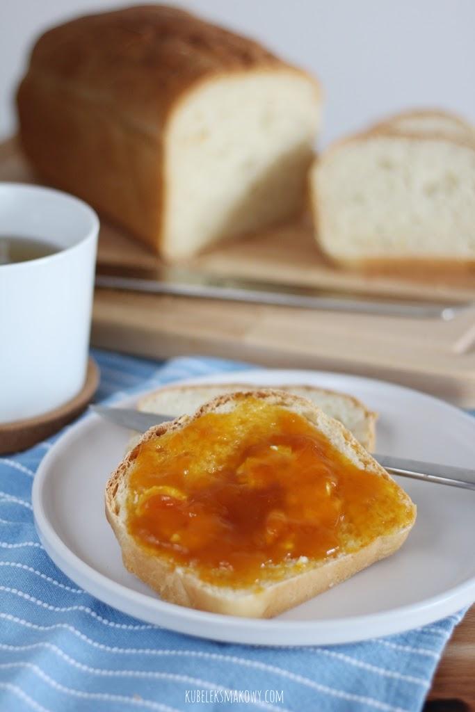 chleb drożdżowy ze skórką pomarańczowa - przepis