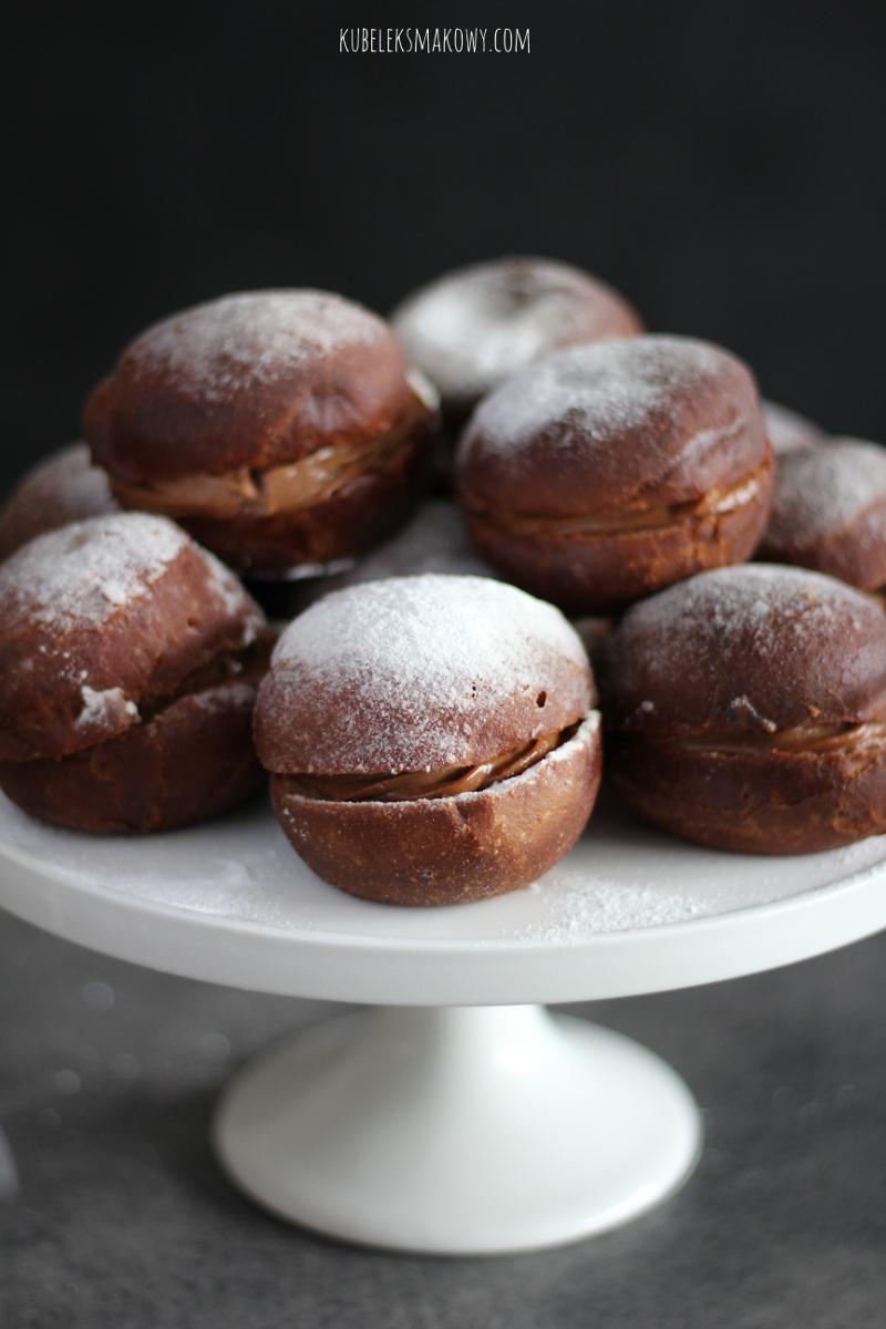 pączki czekoladowe - przepis