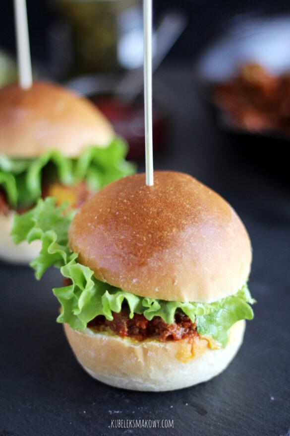 domowe burgery sloppy joe - przepis